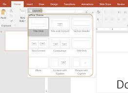 Tutorial Formatting Microsoft Powerpoint Presentations