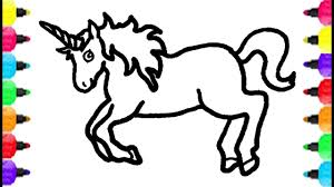 Coloring Pages Unicorn Cute Collection Free Books Baby With Wings