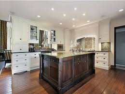 Wood Floors In Kitchens Kitchen Designs White Cabinets Wood Floors Modern Open Kitchen