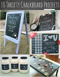 10 thrifty chalkboard projects at anightowlblog com thrifty chalkboard goodwill
