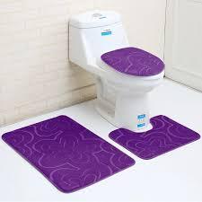 2019 flannel bathroom mat sets microfiber geometric modern anti slip bath mat modern bathroom rug and toilet mat set from gemstone168 16 07 dhgate com