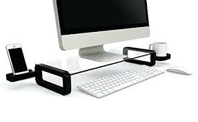 glass monitor stand small glass monitor stand glass monitor stand