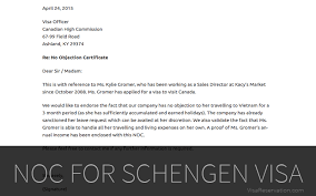 Absolute Guide On No Objection Letter For Schengen Visa Visa
