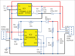 5v And 12v Power Supply Design Usb Based Triple Power Supply Full Electronics Project