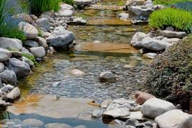 how to build a backyard stream water