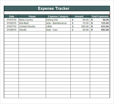 Expense Tracking Template 7 Download Free Documents In Pdf Word