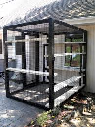 Patio cat enclosure. Beautiful World Living Environments www.abeautifulwor.