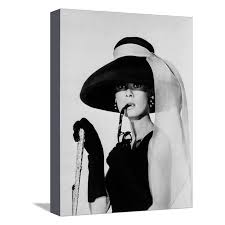 audrey hepburn breakfast at tiffany s stretched canvas print wall art by movie star news walmart  on audrey hepburn breakfast at tiffanys wall art with audrey hepburn breakfast at tiffany s stretched canvas print wall
