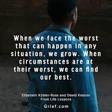 Quotes About Grief Fascinating Grief Quotes Memes Elisabeth Kubler Ross Louise Hay David Kessler