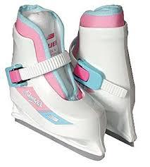 Bauer Lil Angel Skates Size Chart Bauer Lil Angel White Ice Skates Children Size 6 7 Ice