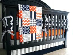 gray crib bedding set boys orange bedding boy nursery bedding set orange navy blue gray crib