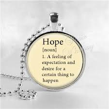 hope necklace word definition necklace hope hope pendant hope jewelry glass art pendant charm dictionary word definition