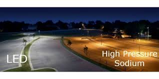 led vs high pressure sodium light