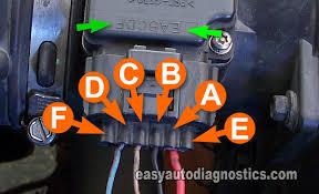 part how to test the ford mass air flow maf sensor maf sensor circuit descriptions