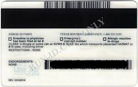Texas Fake - com Card Id Buy-id State Maker