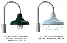 galvanized exterior lighting. outdoor pole lights post mount add finishing touch to exterior lighting galvanized