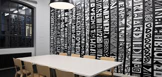 creative office walls. creative office branding using wall graphics from vinyl impression stickers give a professional look walls i