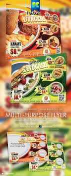 17 best images about flyers restaurant corporate multi purpose food flyers