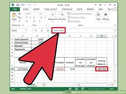 image titled prepare amortization schedule in excel step 8