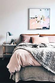peach and grey bedding pink sheets pillows w white comforter blanket peach and grey bedding