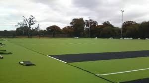 6 artificial grass carpet laying 7 completed pitch