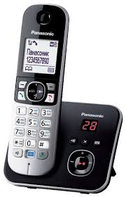 радиотелефон panasonic kx tg6821 rub black