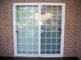burglar bars for sliding glass doors door security locks outside