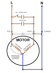 start capacitor run motor wiring diagram run capacitor wiring run capacitor wiring diagram air conditioner at Capacitor Start Run Motor Wiring Diagram