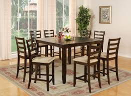 square dining room table seats    extraordinary square