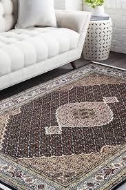 black chandelier handknotted wool area rug
