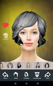 Hairstyle Simulator App hairstyle changer app virtual makeover women men android apps 5653 by stevesalt.us