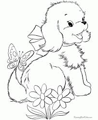 Printable Coloring Pages Of Puppies - aecost.net | aecost.net