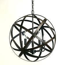 metal orb chandelier entry option 1 large world market garden chande