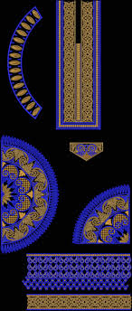 Computerized Embroidery Designs Free Download Free Embroidery Designs For Salwar Kameez Frock Kurti