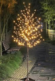 outdoor blossom tree led lights. amazon.com: lightshare led blossom tree, 6-feet, warm white: home \u0026 kitchen outdoor tree led lights o