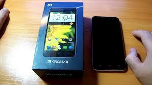 обзор ZTE Grand X Quad V987 часть 1 ...