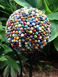 Decorating Bowling Balls Marbles Classy Cool And Unique DIY Garden Globes Gardening Ideas Pinterest