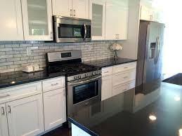 backsplash ideas for black granite countertops. Transitional Black White Kitchen By Pa Granite Countertops Countertop Ideas In Bathroom Backsplash For