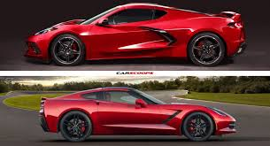 2020 Corvette C8 Vs C7 Lets See How They Compare Carscoops