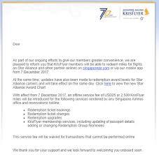 Singapore Airlines Krisflyer Announces Devaluation Online