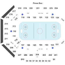 Chicago Wolves Interactive Seating Chart Rockford Icehogs Vs Chicago Wolves Tickets Bmo Harris