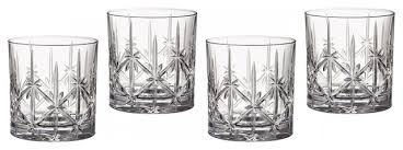 marquis by waterford sparkle double old fashioned glasses set of 4