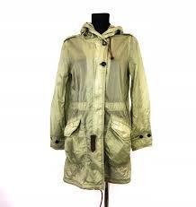 Details About W Woolrich Womens Windbreaker Hooded Jacket Int Xs