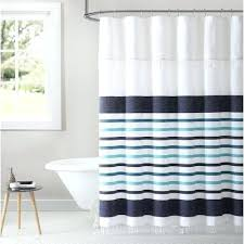 coyuchi shower curtain stripe cotton shower curtain coyuchi scallop striped shower curtain