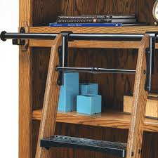 gallery of safely reach the highest shelves in your library wine cellar work or other out with diy library ladder