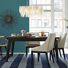 west elm angled leg dining table