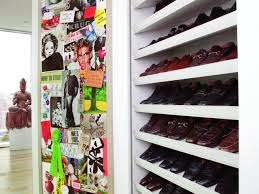 Space Saving Shoe Rack All About Drawers And Shelves Hgtv
