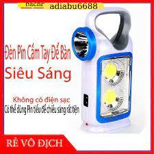 Đèn pin xách tay siêu sáng sạc năng lượng mặt trời có khay pin tiểu tiện  dụng giá cạnh tranh