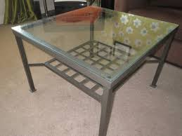 ikea glass coffee table white item is in g68 collection preferred delivery available for small fee to glasgow and