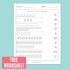 Free Counting Worksheets for Kindergarten Kidz Worksheets ...